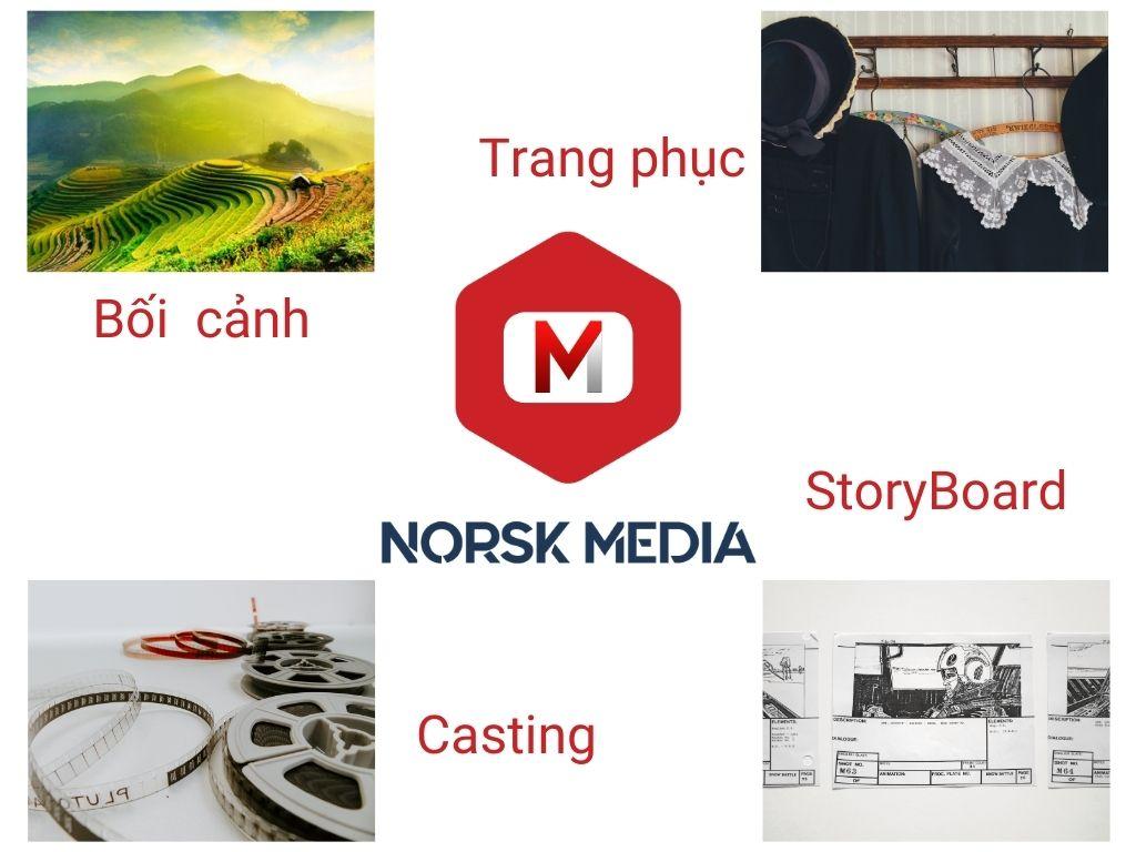 Bốn yếu tố cần có trong giai đoạn sản xuất tiền kỳ TVC quảng cáo doanh nghiệp