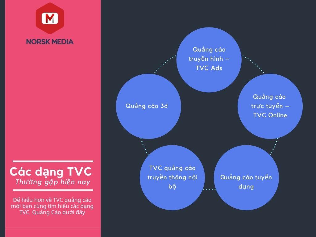 Một số dạng TVC quảng cáo phổ biến hiện nay